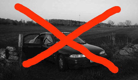 No Cars!