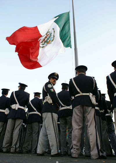 location: Mexico City, Mexico; time: December 2006