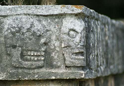 location: Chichen Itza, Mexico; time: December 2006
